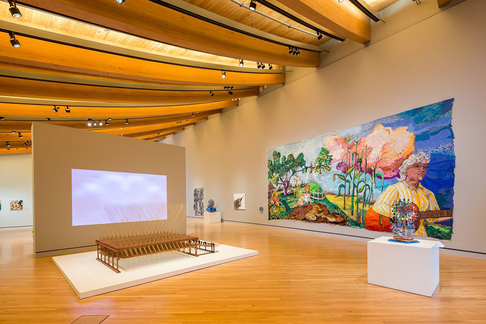 Crystal Bridges Museum, Interior