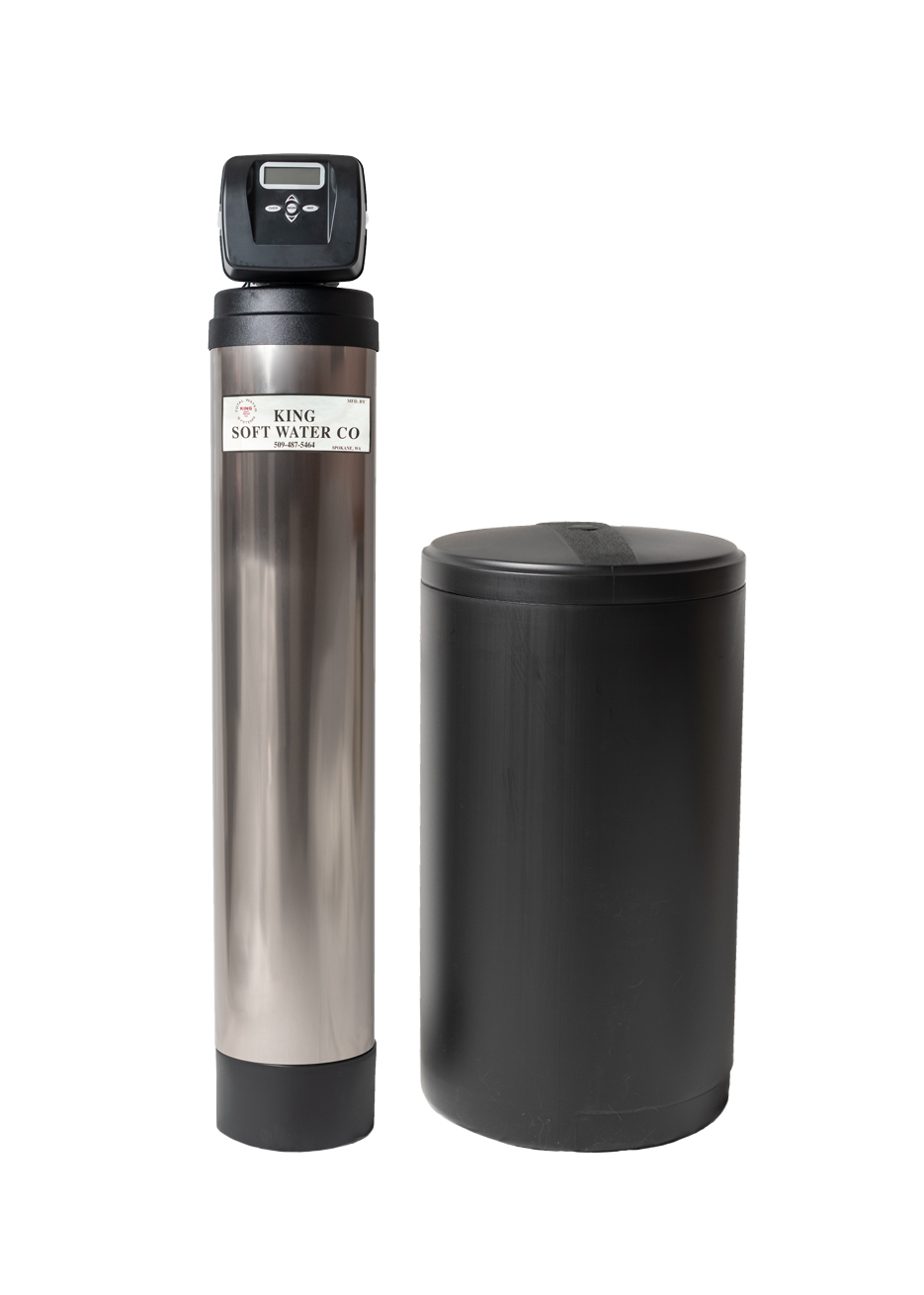KING GM SERIES - High Efficiency Water Softener - FEATURES:· Made in the U.S.A.· True 1