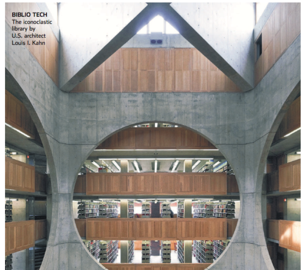 WSJ: Exeter Library