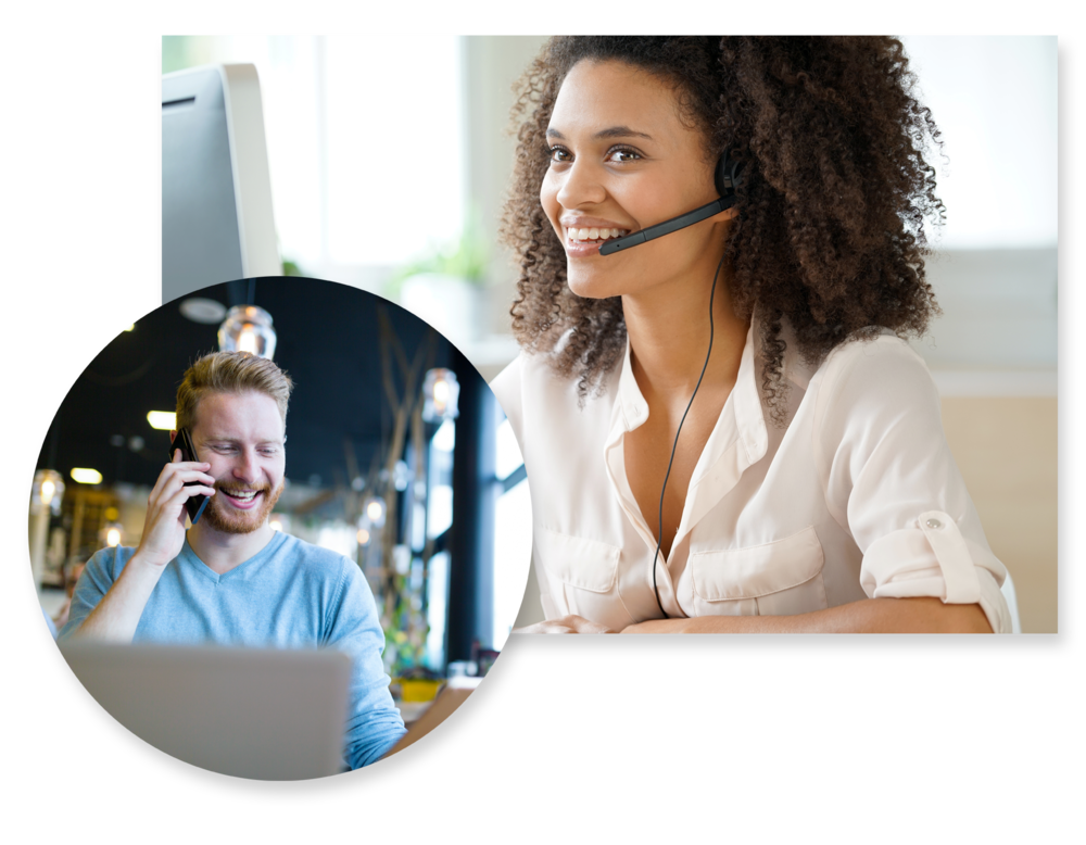 Give us a ring. - Interested in building a custom software solution? Just pick up the phone to chat with a member of our customization team members.