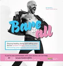 Dr. Demetre was the model for the NYC Health Department campaign.