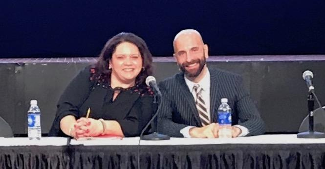 Johanne Morne, Director, AIDS Institute, NYS NYC Health Dept.; Dr. Demetre Daskalakis, NYC Health Department.