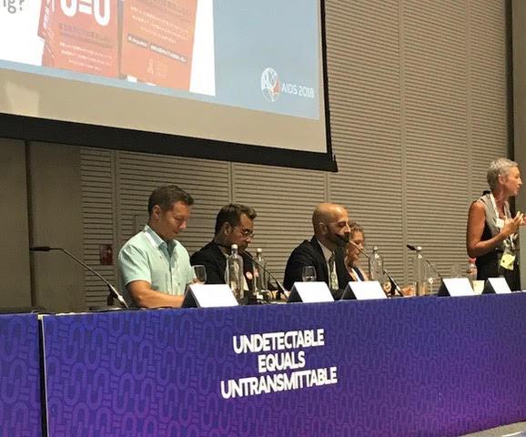 U=U Symposium. Dr. Daskalakis speaks! (3rd from left)
