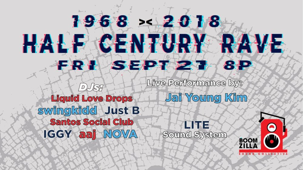 Half century Rave - Fri. Sept 21 @ Dogpatch SF