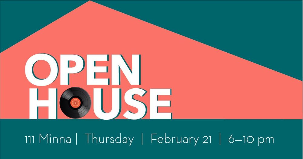 OPEN HOUSE @ 111 Minna Gallery - Thurs. Feb 21 6-10pm