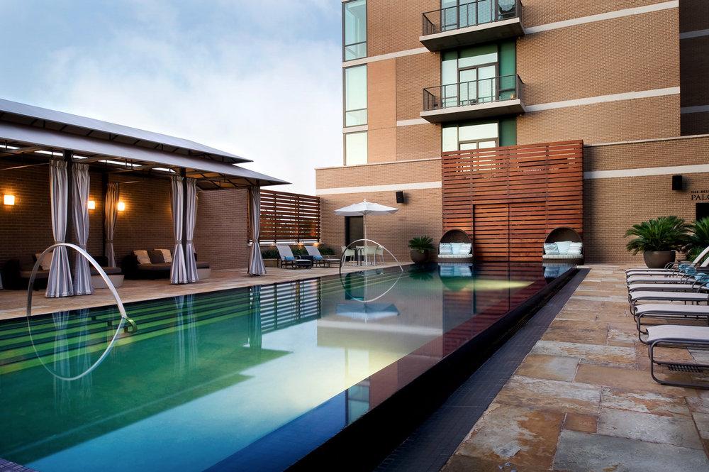 Kimpton Hotel Pool by Auda & Auda Photography, resort photography, boutique hotel, luxury boutique hotel photography, architecture photography