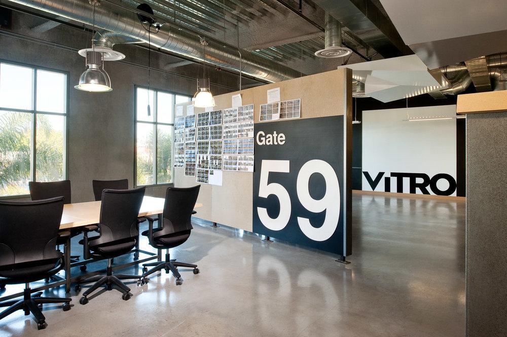 Vitro Ad Agency interior, Liberty Station architecture, ad agency photographer, interior photographers, agency photography