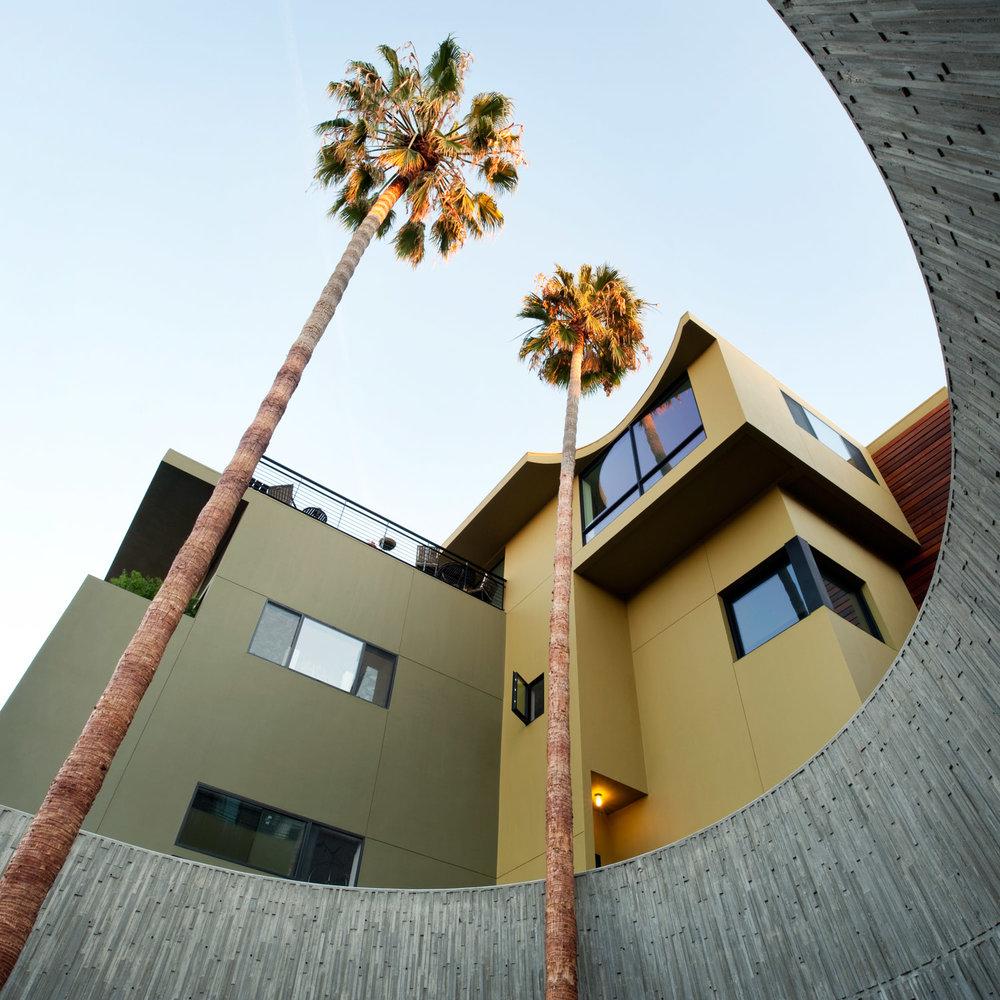 Lloyd Russell Center Street Loft building, modern architecture photography, handmade modernism, architectural detail