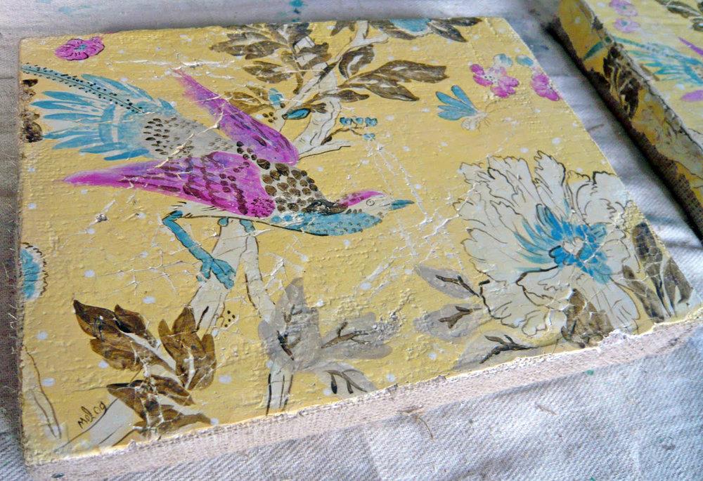 Fresco Secco: Exotic Bird & Bug