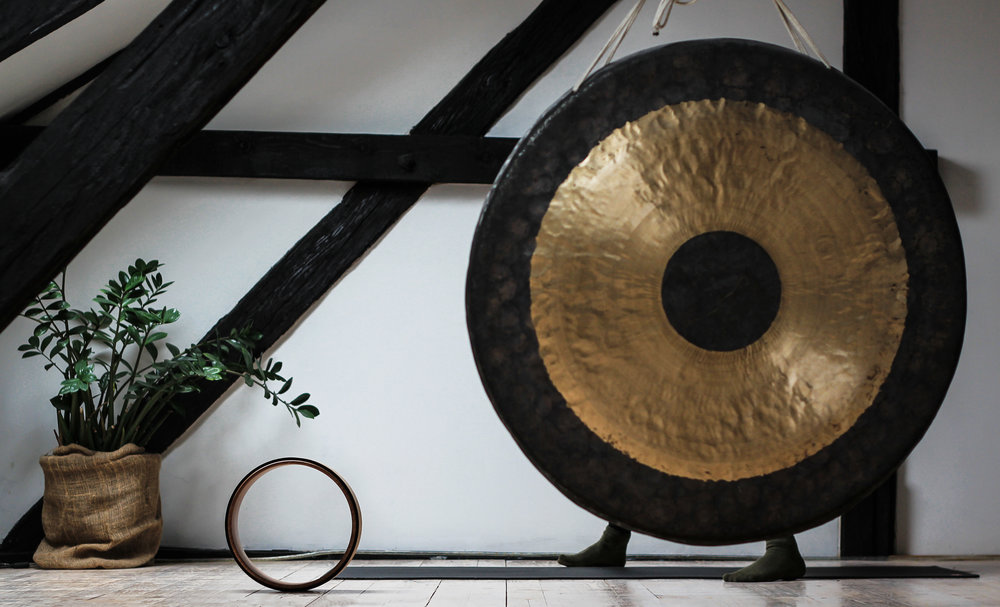 Sound Meditation$40 - An immersive dive into the mysterious healing vibrations of gongs, singing bowls, chimes, and other traditional & neo-traditional instruments.