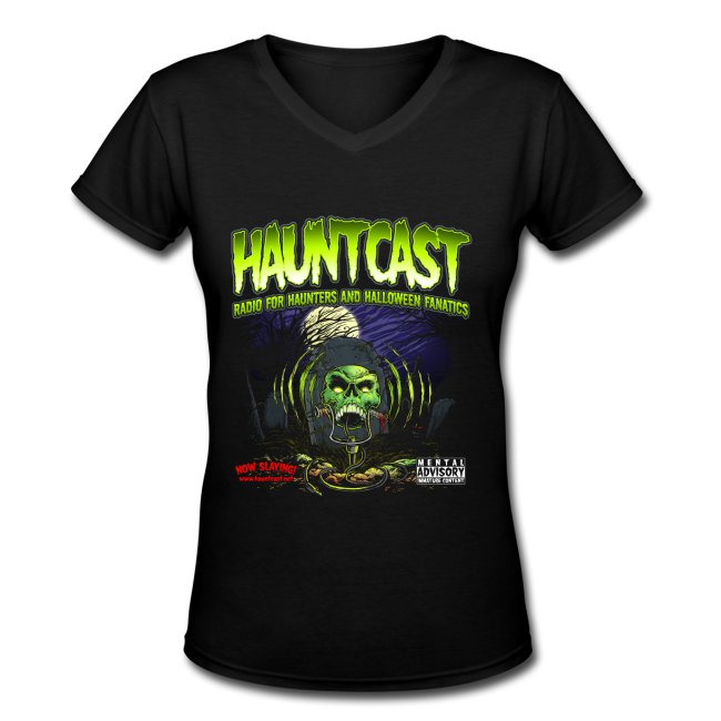 Hauntcast Women's V-Neck