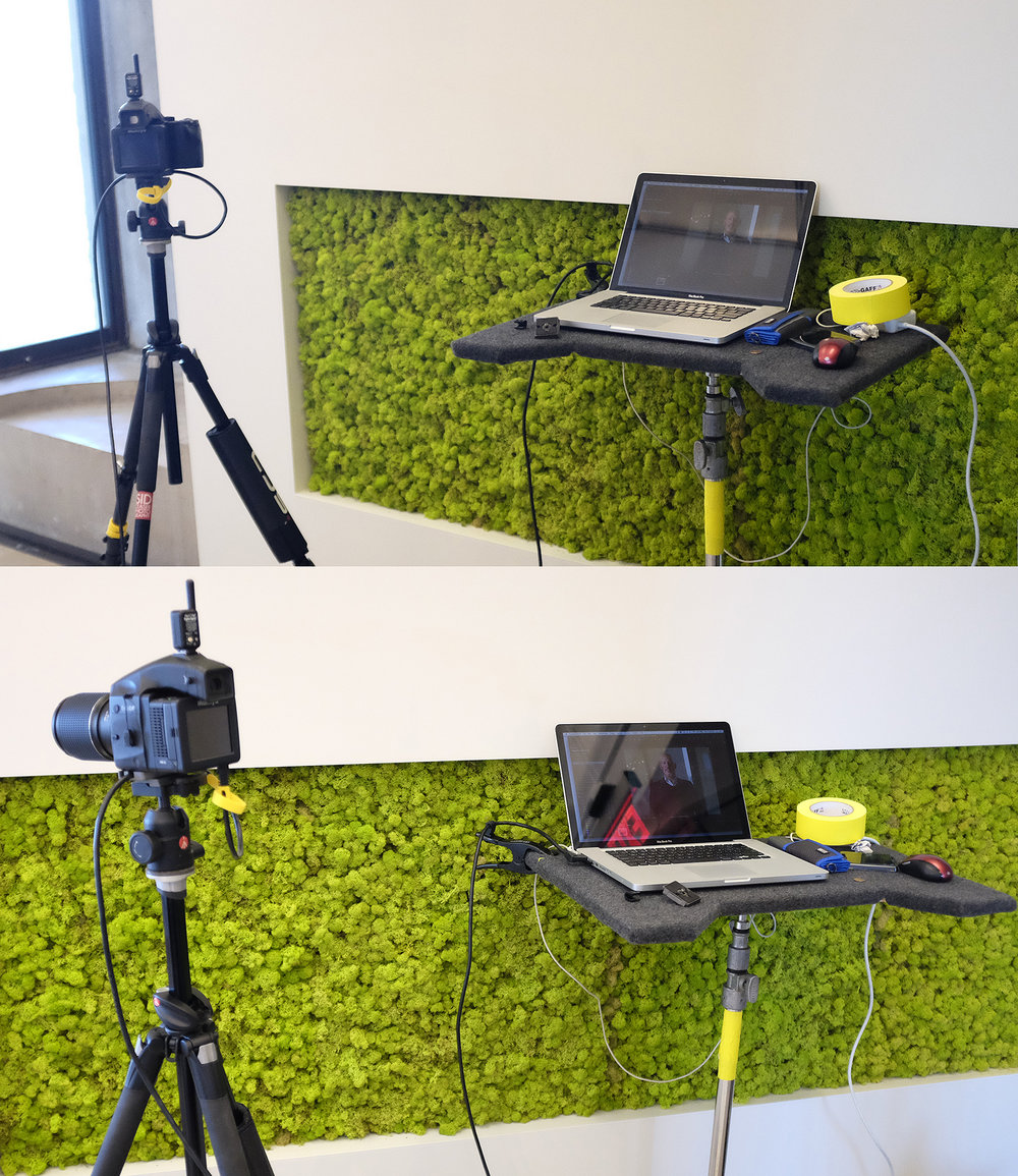 """Shooting tethered with the Mamiya kit and 13"""" macbook pro (with SSD)"""