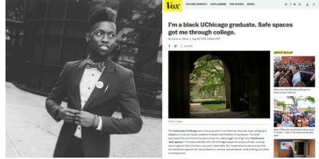"""FREE SPEECH 32: """"Safe Spaces Got Me Through College"""" How Universities Can Guarantee Free Speech While Being Inclusive - With Cameron Okeke"""