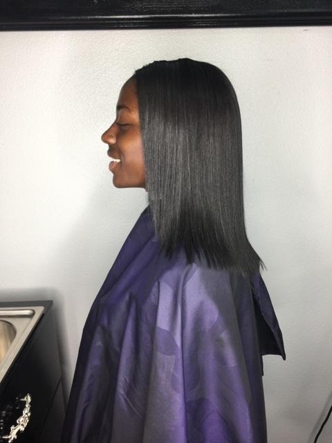 Natural Hair Straightening
