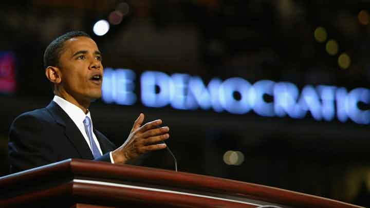 Barack Obama's 2004 Democratic Convention Speech - Watch Politico's behind-the-scenes video about Barack Obama's 2004 Democratic Convention speech, including an interview with Vicky Rideout, director of speech writing for the Convention.