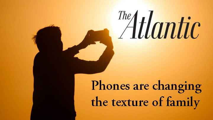 Teens and Smart Phones - August 22, 2018Read Vicky Rideout's comments about teens and smart phones in the August 2018 issue of the Atlantic.