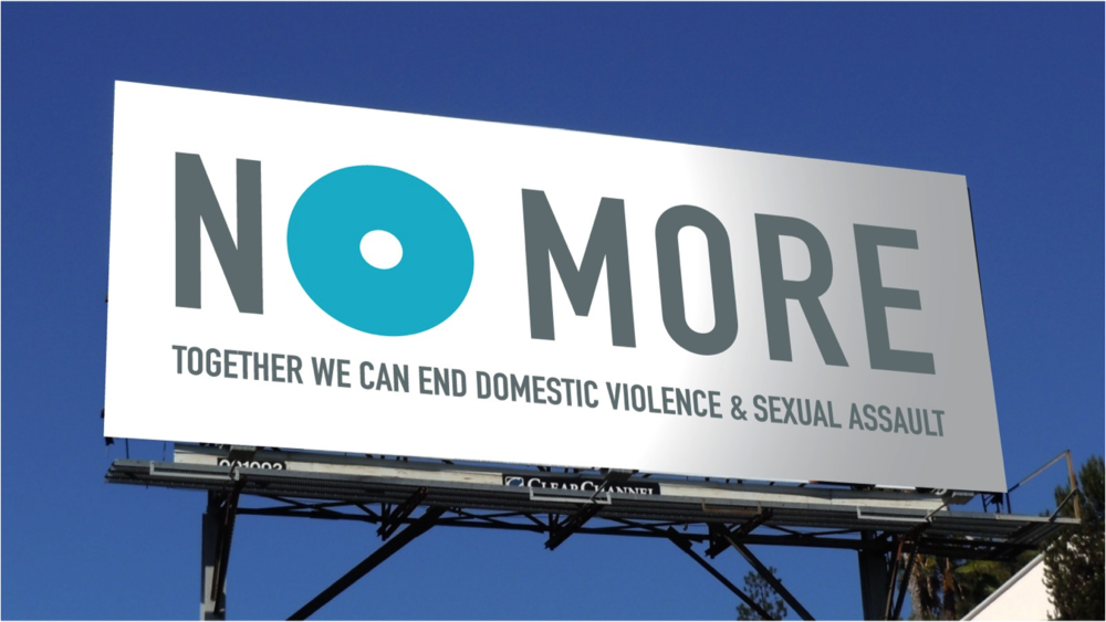"""The NO MORE Project - In December 2009, a group of some of the country's leading funders and activists in the domestic violence and sexual assault movement came together to talk about how to take their issues higher on the national agenda: to raise the visibility of their cause, bring it out of the shadows and into the light. They came up with an idea: to create a """"brand"""" – a visual icon – for members of the public to use to express their concern about the issue. Then they hired VJR Consulting to help make that vision a reality. We organized """"think tanks"""" with leaders from the worlds of branding, marketing, and media; developed criteria and goals for the new symbol; brought a leading brand design firm on board; established an organizational structure for the effort; conducted consumer research, and developed a strategic plan for implementation."""