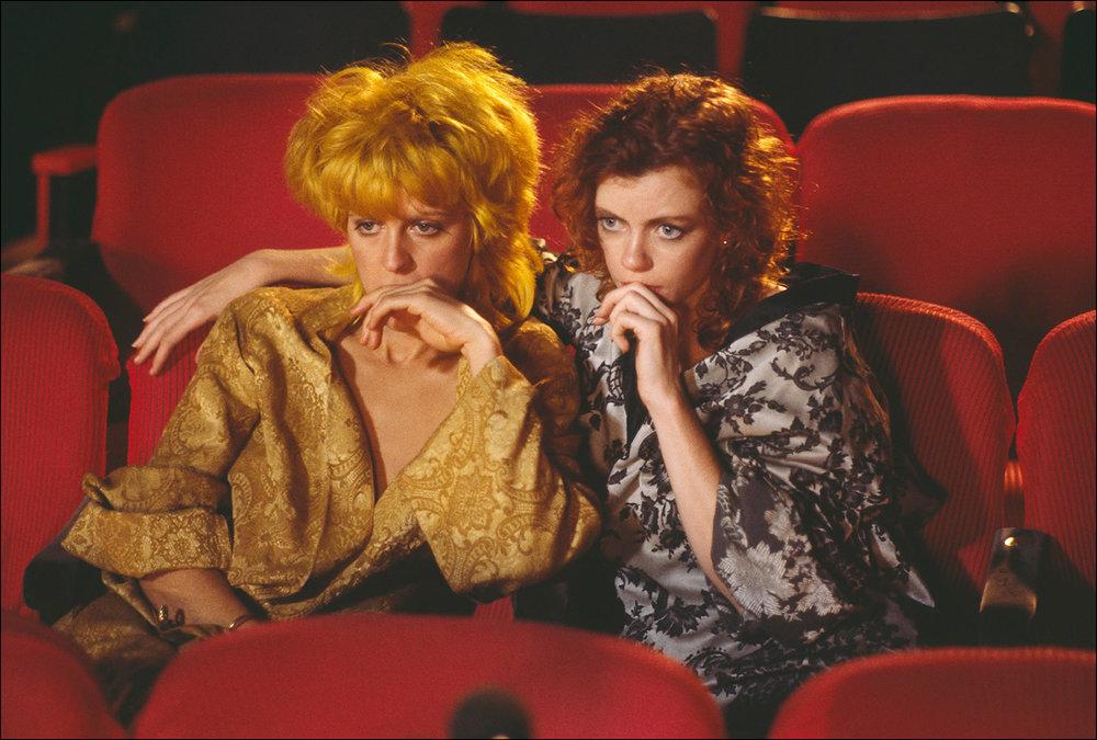Sharon Kane and Carol Cross, 1985