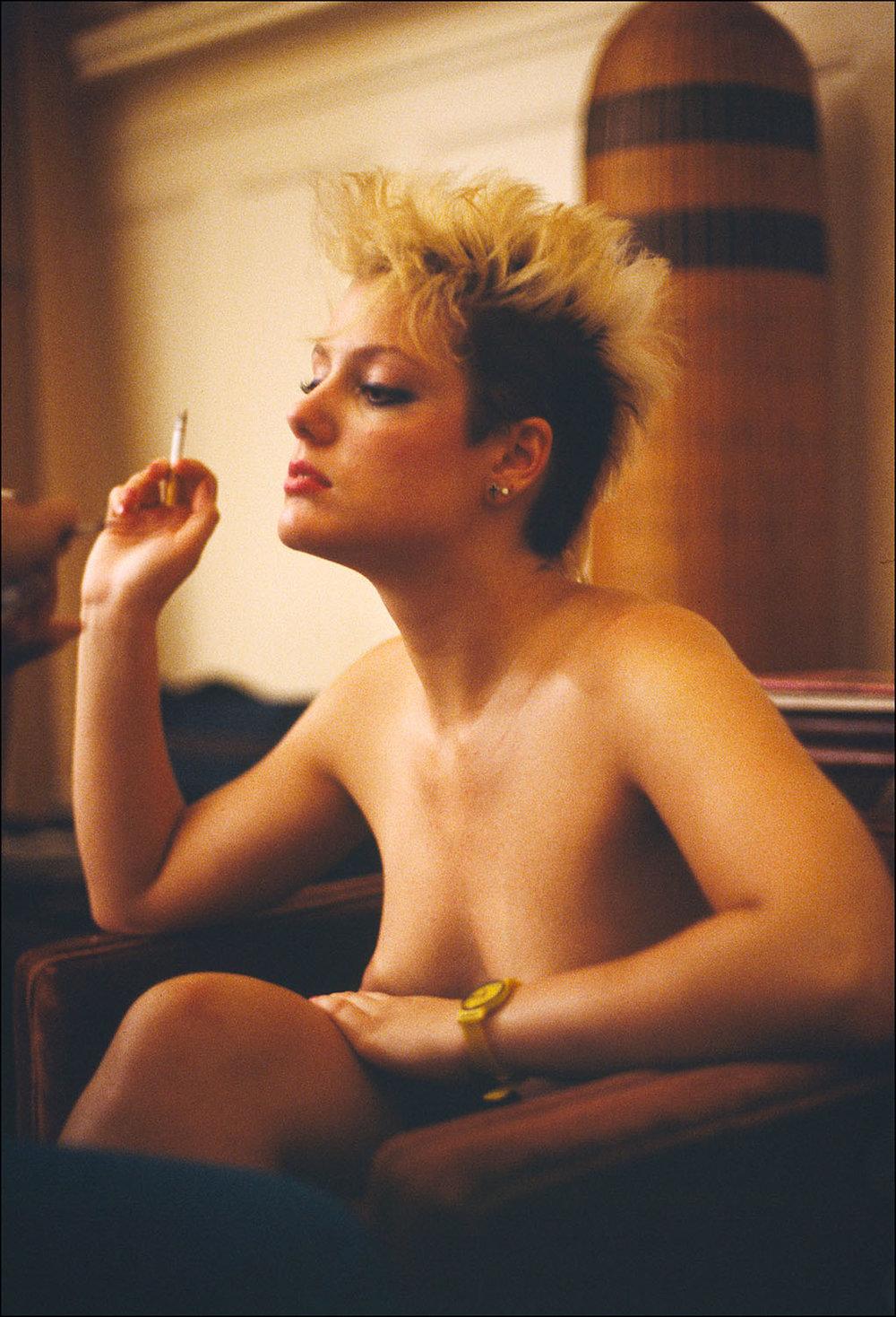 Jeanna Fine in Firebox, 1986