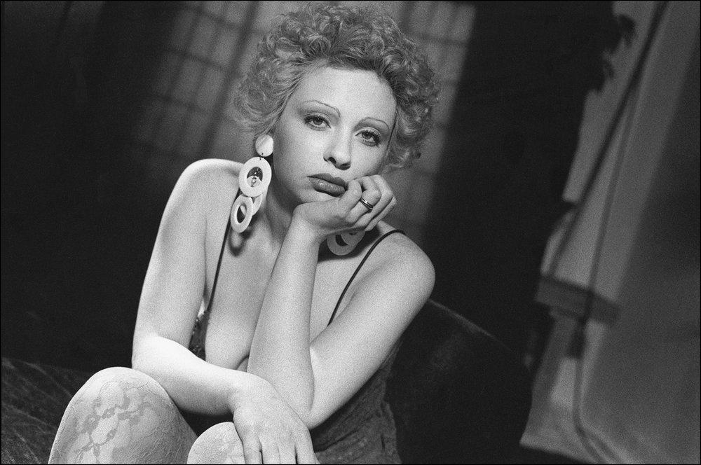 Sasha Sweet on a Gotham Gold Set, 1994