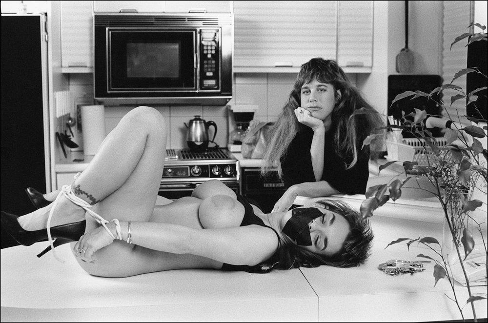 Bunny Bleu and Kristara Knight, 1992
