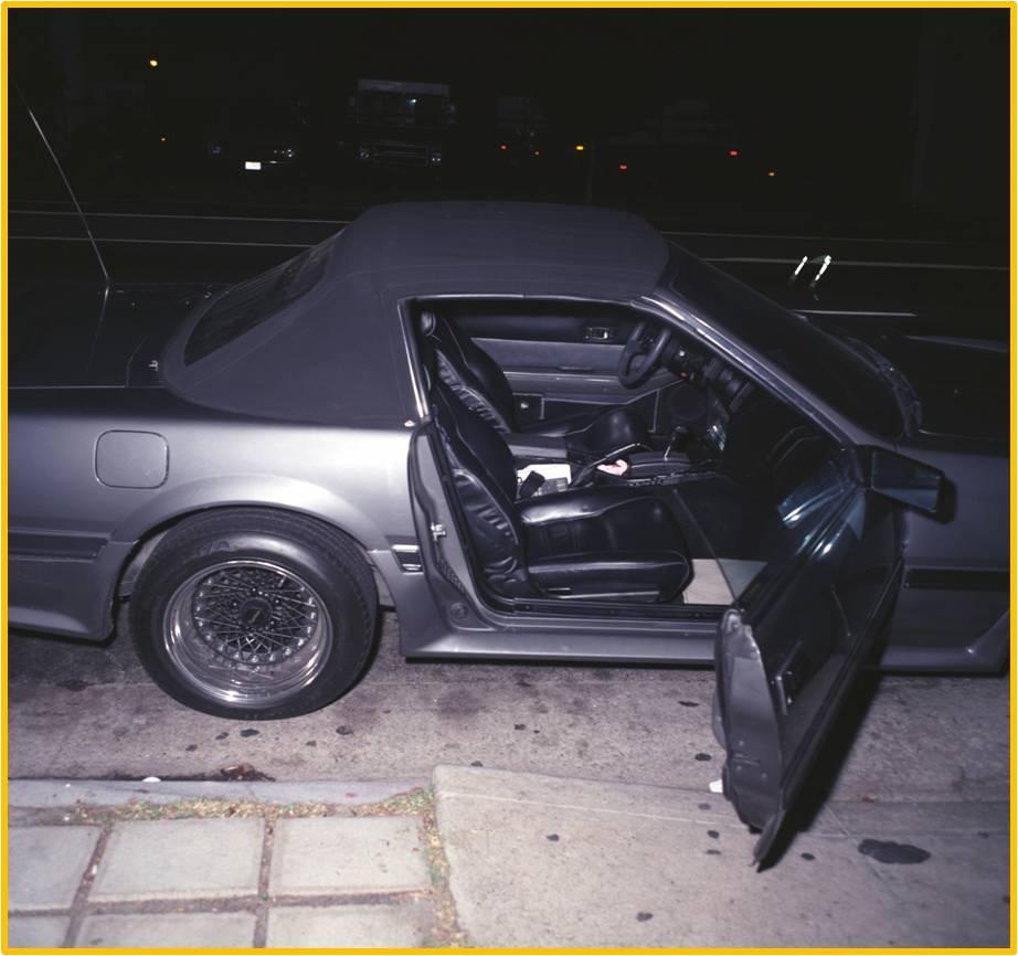 Jade Clark's Nissan 300ZX (passenger's side)