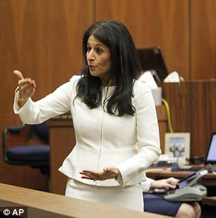 Prosecutor Tannaz Mokayef (photo by Nick Ut, Associated Press)