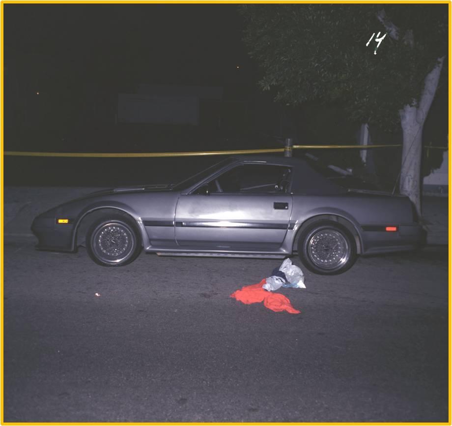 Jade Clark's Nissan 300ZX (driver's side)