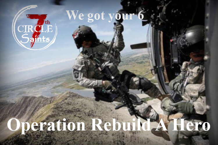 Featured Campaign: We are proud to announce the launching of our Operation Rebuild A Hero! Click here to lean more.