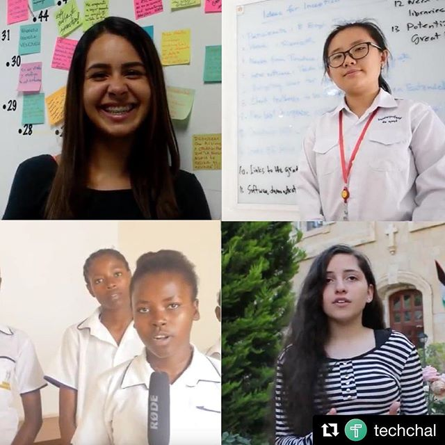 CONGRATS to all the semi-finalists from around the world! ✨🌍 #Repost @techchal with @get_repost ・・・ We are humbled to announce the 200+ worldwide #Technovation2018 semifinalist teams. They will be judged virtually by dedicated judges and on June 25, we will announce the 2018 runner-ups & finalists. Congratulations to all—every one who participated made #tech more inclusive, society more empowered, and the future more #innovative, because they made it #GirlsforaChange. 👏