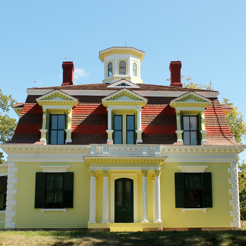 Captain Penniman House - FCCNS contributed to the exterior improvements and painting of the historic Captain Penniman House in Eastham.