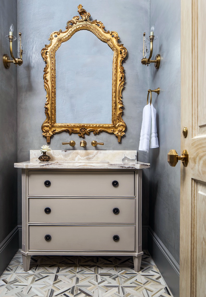 Custom bathroom vanities - Memorial Cabinetry Houston, TX