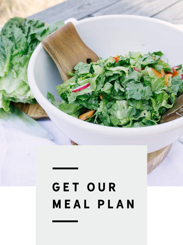 Get our meal plan!