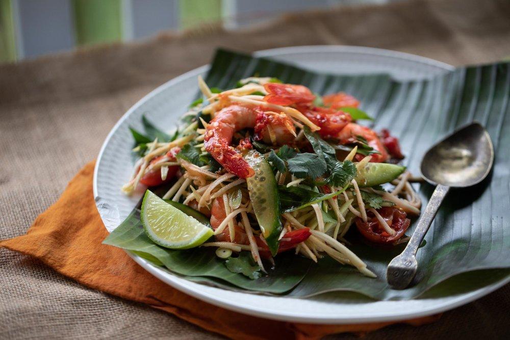 Ep3 Anna Gare's Cab Fare Cambodian Prawn Salad 6.jpg