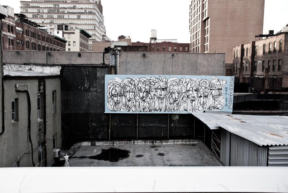 Rooftop Mural