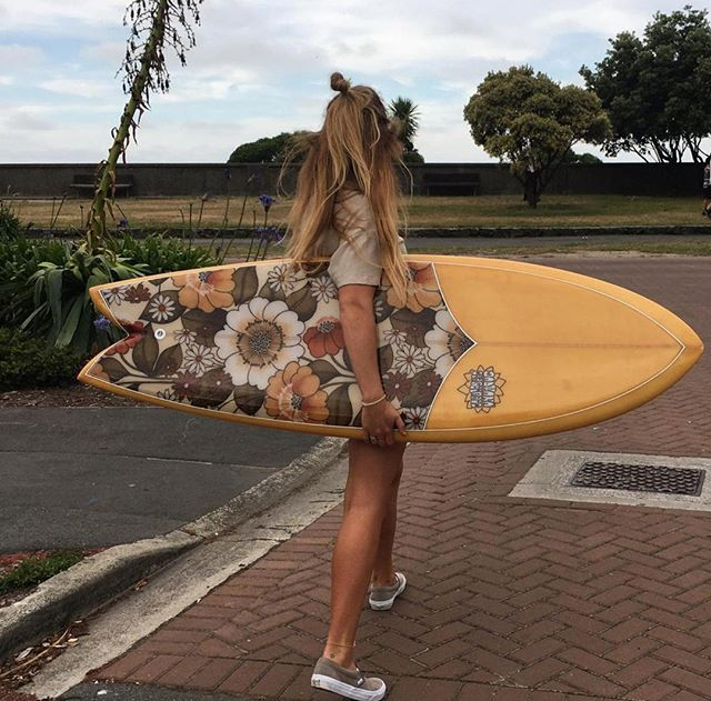 We love this snap of @alice_mayo almost as much as we love that beauty of Trish the fish.  #shop #shoplocal #supportlocal #shaper #surfshaper #surfboard #custom #custommade #surf #surfnz #surfingnz #summer #vibes #summervibes #christchurch #chch #chchnz #christchurchnz #sadhanasurf #beach #sadhanasurf