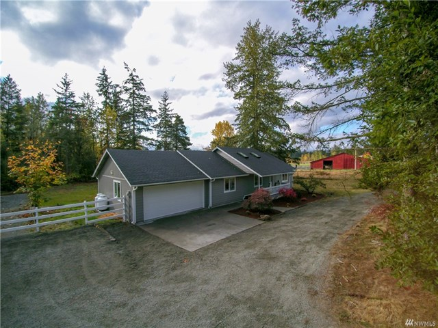 Yelm, WA - 3 Bedrooms, 2 Bathrooms, 1744 Square Feet Four + acre lot, beautifully remodeled rambler.Click here for MLS listing.Click here for Zillow listing.