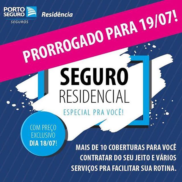Pessoal! O #MegaResidenciaDay da @portoseguro foi prorrogado até amanhã! Simule e contrate seu Seguro Residencial com descontos extras através do link http://bit.ly/MinhaCasaProtegida e se tiver dúvidas, nos chame no WhatsApp clicando aqui http://bit.ly/MeMandaNoZap #MinhaCasa #MinhaCasaProtegida #Seguro #seguroresidencial #PortoSeguro #ResidencialHabitual #ResidencialVeraneio #ResidencialPremium