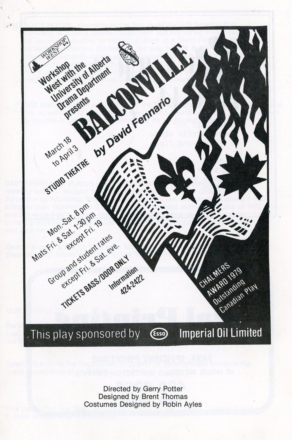 Balconville (March, 1982) - Program Cover.jpg