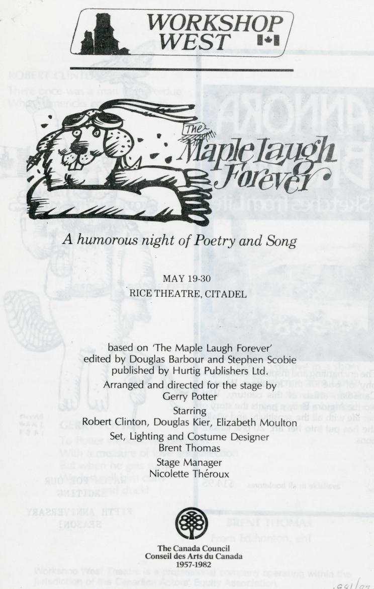 The Maple Laugh Forever (May, 1982) - Program Information-page-001.jpg