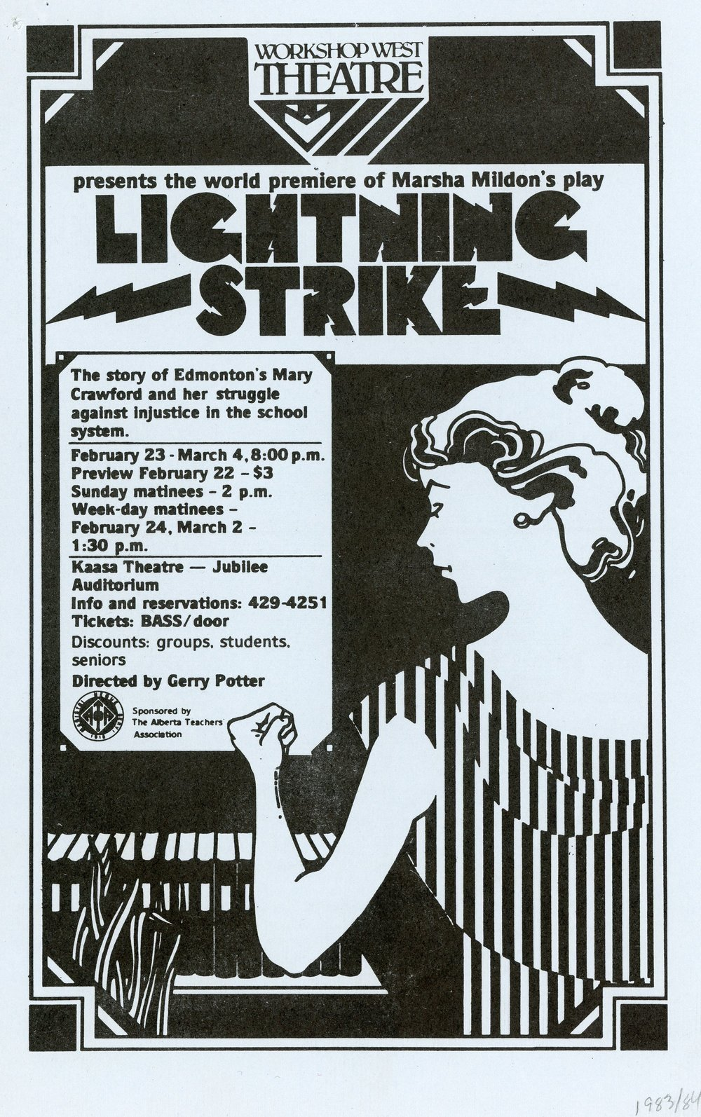 Lightning Strike (February, 1984) - Program Cover.jpg