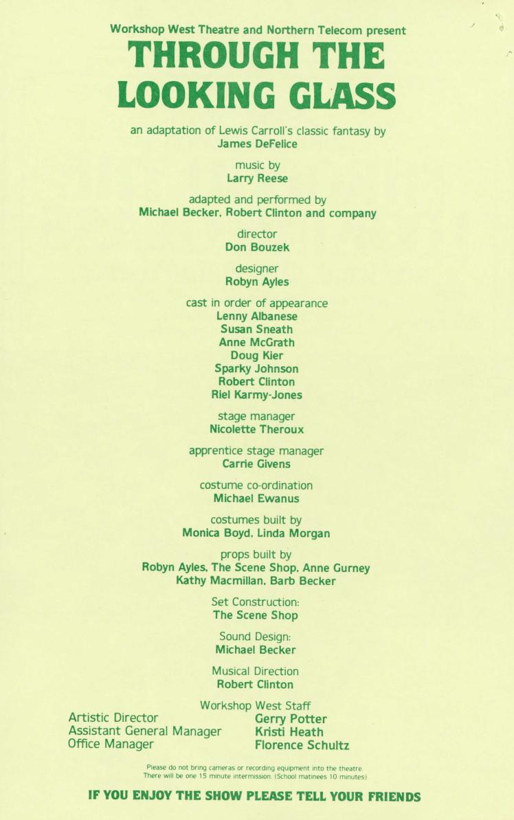 Through the Looking Glass and What Alice Found (December, 1983) - Program Information-page-001.jpg