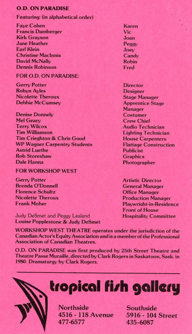 O.D on Paradise (December, 1984) - Production Information-page-001.jpg