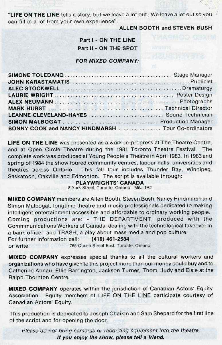 Life on the Line (October, 1984) - Production Information-page-001.jpg