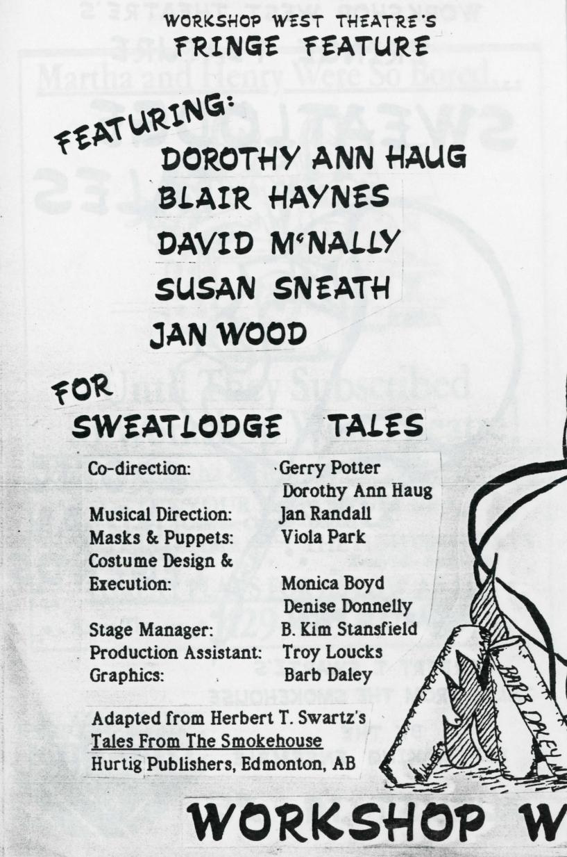 Sweatlodge Tales (August, 1985) - Production Information-page-001.jpg