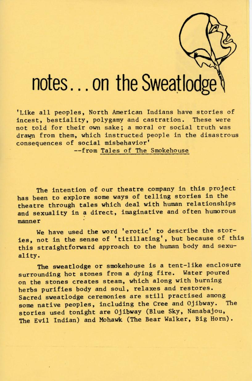Sweatlodge Tales (August, 1985) - Production Information-page-003.jpg