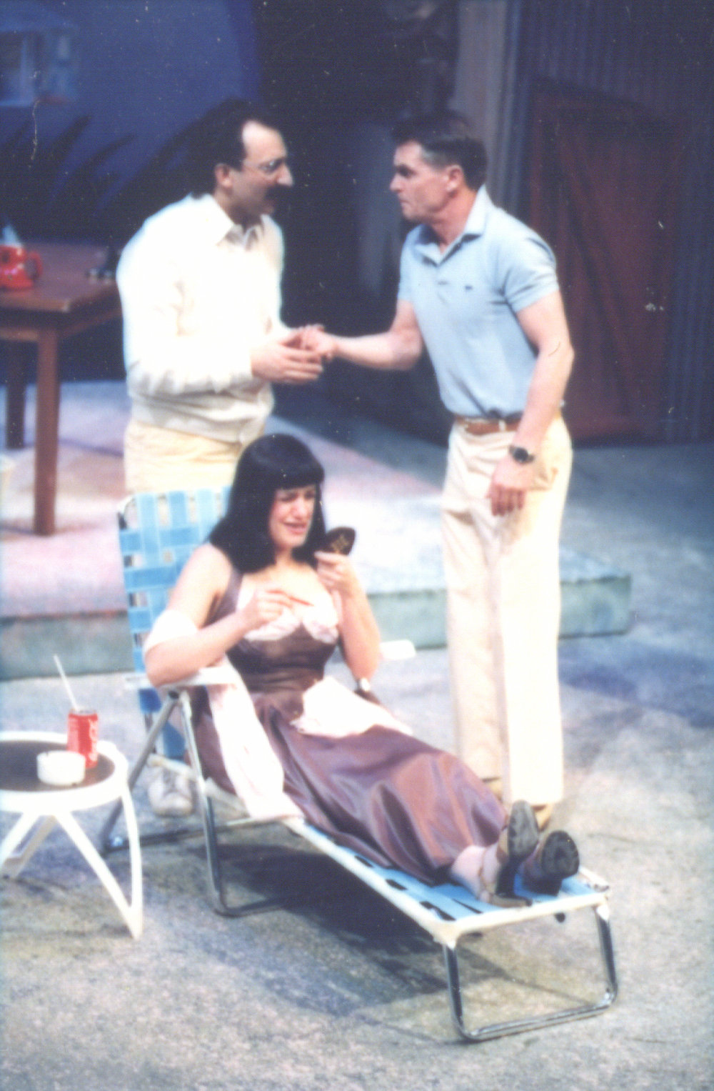 Backyard Beguine (March 1987) Production Image 1.jpg
