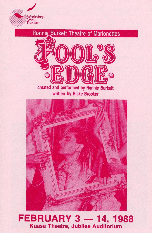 Fool_s Edge (February, 1988) - Program Cover.jpg