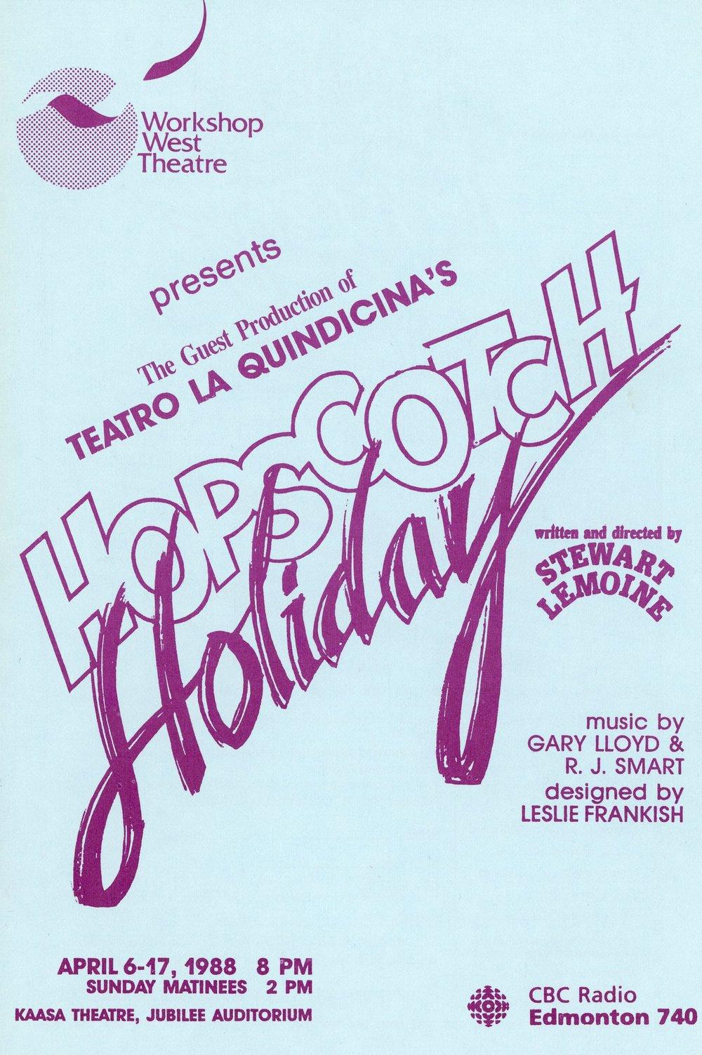 Hopscotch Holiday (April, 1988) - Program Cover.jpg