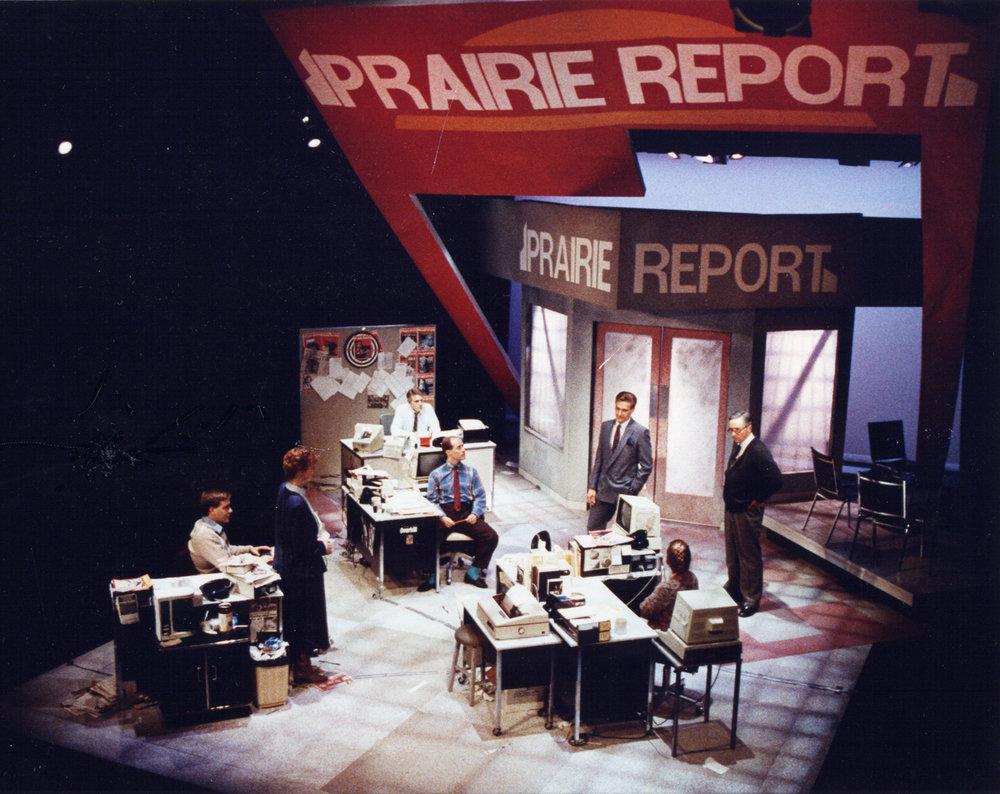 Prairie Report (October 1988) Production Image 1.jpg